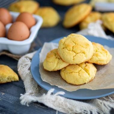 Biscotti Goccia Di Farina Di Mandorle