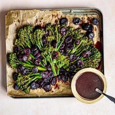 Broccolini & Ciliegie Arrosto Balsamico