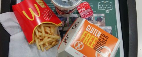 Mc Donald senza glutine: cosa può mangiare un celiaco?